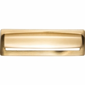 Top Knobs - Lynwood Collection - Hollin Cup Pull 5 1/16 Inch - Honey Bronze - TK938HB