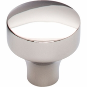 Top Knobs - Lynwood Collection - Kinney Knob 1 1/8 Inch - Polished Nickel - TK900PN