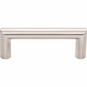 Top Knobs - Lynwood Collection - Kinney Pull 3 Inch - Brushed Satin Nickel - TK940BSN