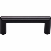 Top Knobs - Lynwood Collection - Kinney Pull 3 Inch - Flat Black - TK940BLK