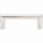 Top Knobs - Lynwood Collection - Kinney Pull 3 Inch - Polished Nickel - TK940PN