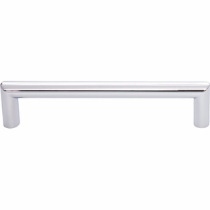 Top Knobs - Lynwood Collection - Kinney Pull 5 1/16 Inch - Polished Chrome - TK942PC