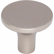 Top Knobs - Lynwood Collection - Marion Knob 1 1/4 Inch - Polished Nickel - TK913PN