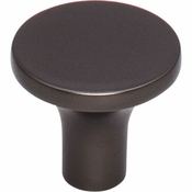Top Knobs - Lynwood Collection - Marion Knob 1 1/8 Inch - Ash Gray - TK912AG