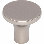 Top Knobs - Lynwood Collection - Marion Knob 1 1/8 Inch - Polished Nickel - TK912PN