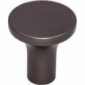 Top Knobs - Lynwood Collection - Marion Knob 1 Inch - Ash Gray - TK911AG