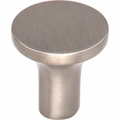 Top Knobs - Lynwood Collection - Marion Knob 1 Inch - Brushed Satin Nickel - TK911BSN