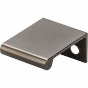 """Top Knobs - Mercer Collection - Europa Tab Pull 1 1/4"""" - Ash Gray - TK500AG"""