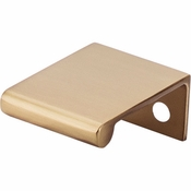 "Top Knobs - Mercer Collection - Europa Tab Pull 1 1/4"" - Honey Bronze - TK500HB"