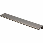 "Top Knobs - Mercer Collection - Europa Tab Pull 10"" - Ash Gray - TK505AG"