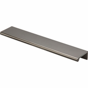 """Top Knobs - Mercer Collection - Europa Tab Pull 8"""" - Ash Gray - TK504AG"""