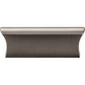Top Knobs - Mercer Collection - Glacier Pull 2 Inch (c-c) - Ash Gray - TK552AG