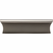 Top Knobs - Mercer Collection - Glacier Pull 3 Inch (c-c) - Ash Gray - TK553AG