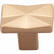 Top Knobs - Mercer Collection - Quilted Knob 1 1/4 Inch - Honey Bronze - TK560HB