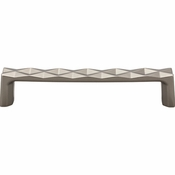 Top Knobs - Mercer Collection - Quilted Pull 5 1/16 Inch (c-c) - Ash Gray - TK562AG