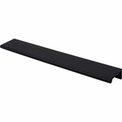 "Top Knobs - Mercer Collection - Europa Tab Pull 10"" - Flat Black - TK505BLK"