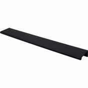 "Top Knobs - Mercer Collection - Europa Tab Pull 12"" - Flat Black - TK506BLK"