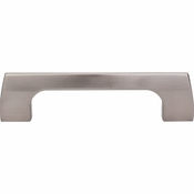 "Top Knobs - Mercer Collection - Holland Pull 3 3/4"" (c-c) - Brushed Satin Nickel - TK543BSN"