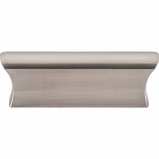 "Top Knobs - Mercer Collection - Glacier Pull 2"" (c-c) - Brushed Satin Nickel - TK552BSN"