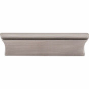 "Top Knobs - Mercer Collection - Glacier Pull 3"" (c-c) - Brushed Satin Nickel - TK553BSN"