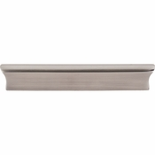 "Top Knobs - Mercer Collection - Glacier Pull 5"" (c-c) - Brushed Satin Nickel - TK554BSN"