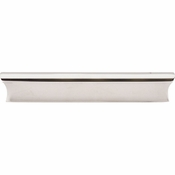 "Top Knobs - Mercer Collection - Glacier Pull 5"" (c-c) - Polished Nickel - TK554PN"