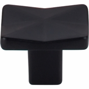 "Top Knobs - Mercer Collection - Quilted Knob 1 1/4"" - Flat Black - TK560BLK"