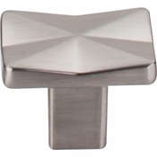 "Top Knobs - Mercer Collection - Quilted Knob 1 1/4"" - Brushed Satin Nickel - TK560BSN"