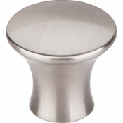 "Top Knobs - Mercer Collection - Oculus Round Knob Medium 1 1/8"" - Brushed Satin Nickel - TK591BSN"
