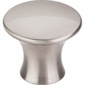 "Top Knobs - Mercer Collection - Oculus Round Knob Large 1 5/16"" - Brushed Satin Nickel - TK592BSN"