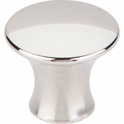 "Top Knobs - Mercer Collection - Oculus Round Knob Large 1 5/16"" - Polished Nickel - TK592PN"