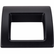 "Top Knobs - Mercer Collection - Tango Finger Pull Large 1 1/2"" - Flat Black - TK616BLK"