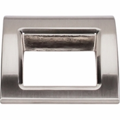 "Top Knobs - Mercer Collection - Tango Finger Pull Large 1 1/2"" - Brushed Satin Nickel - TK616BSN"