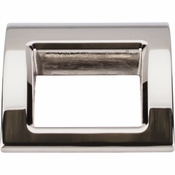 "Top Knobs - Mercer Collection - Tango Finger Pull Large 1 1/2"" - Polished Nickel - TK616PN"
