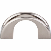 "Top Knobs - Mercer Collection - Tango U Finger Pull 2"" - Brushed Satin Nickel - TK617BSN"