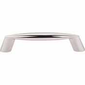 "Top Knobs - Nouveau II Collection - Rung Pull 3 3/4"" (c-c) - Polished Nickel - M1954"