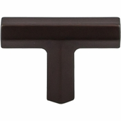 "Top Knobs - Serene Collection - Lydia T Shape Knob 1 3/4"" - Oil Rubbed Bronze - TK790ORB"