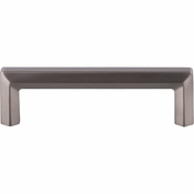 "Top Knobs - Serene Collection - Lydia Pull 3 3/4"" (c-c) - Brushed Satin Nickel - TK793BSN"