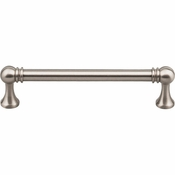 "Top Knobs - Serene Collection - Kara Pull 5 1/16"" (c-c) - Brushed Satin Nickel - TK803BSN"