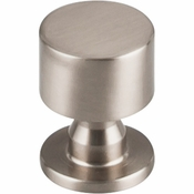 "Top Knobs - Serene Collection - Lily Knob 1"" - Brushed Satin Nickel - TK820BSN"