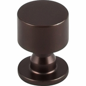 "Top Knobs - Serene Collection - Lily Knob 1"" - Oil Rubbed Bronze - TK820ORB"