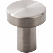 "Top Knobs - Stainless II Collection - Knob 3/4"" - Brushed Stainless Steel - SS116"