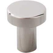 "Top Knobs - Stainless II Collection - Knob 3/4"" - Polished Stainless Steel - SS117"