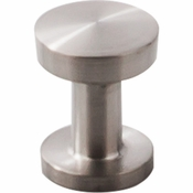 "Top Knobs - Stainless II Collection - Knob 13/16"" - Brushed Stainless Steel - SS40"