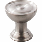 "Top Knobs - Stainless II Collection - Knob 1"" - Brushed Stainless Steel - SS42"