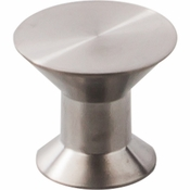 "Top Knobs - Stainless II Collection - Knob 1 3/16"" - Brushed Stainless Steel - SS44"