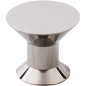 "Top Knobs - Stainless II Collection - Knob 1 3/16"" - Polished Stainless Steel - SS45"