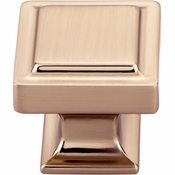 Top Knobs - Transcend Collection - Ascendra Knob 1 1/4 Inch - Honey Bronze - TK702HB