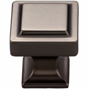 Top Knobs - Transcend Collection - Ascendra Knob 1 1/8 Inch - Ash Gray - TK701AG