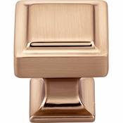 Top Knobs - Transcend Collection - Ascendra Knob 1 1/8 Inch - Honey Bronze - TK701HB